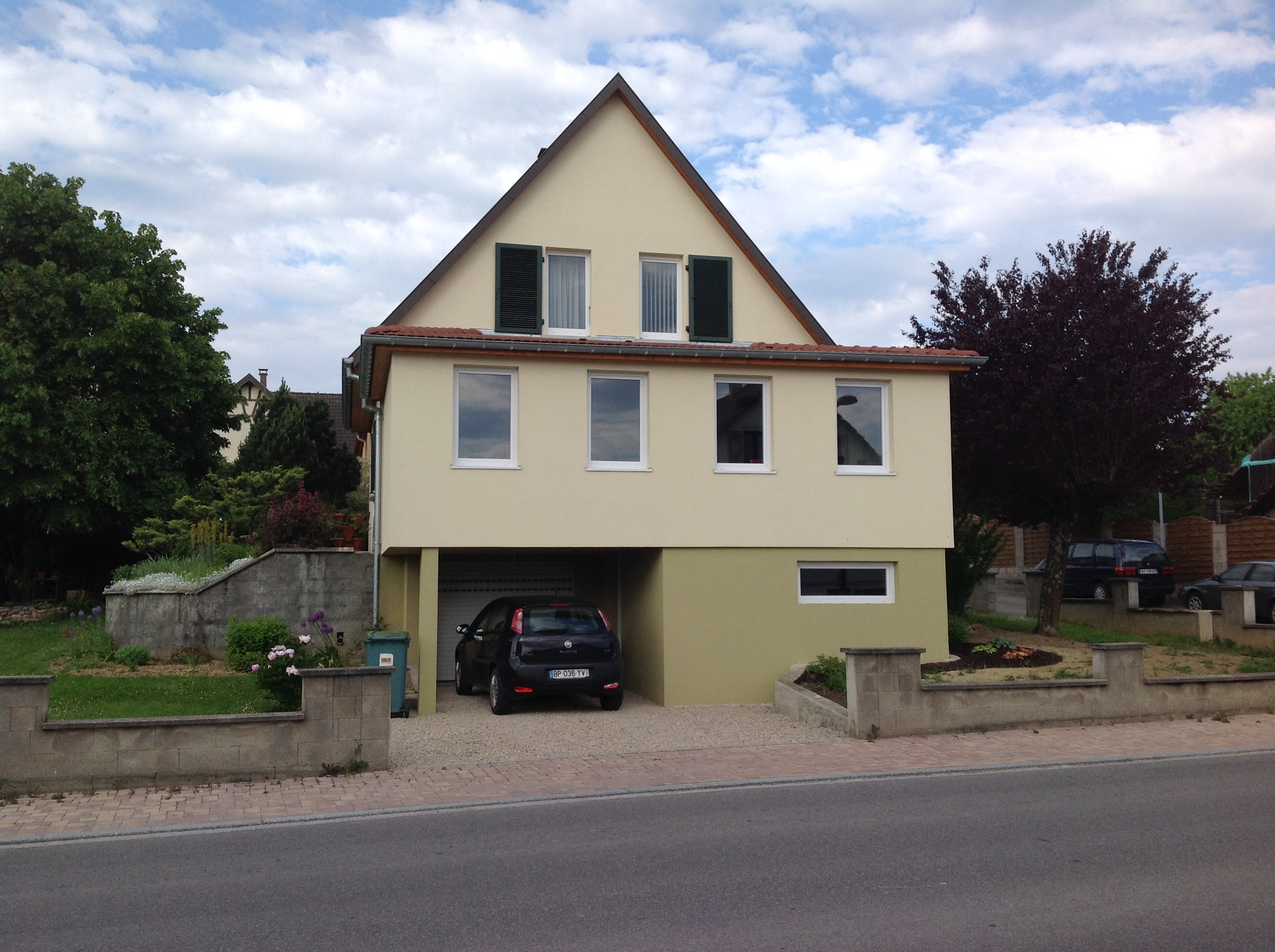 Extension de maison en ossature bois abt construction bois for Extension etage ossature bois