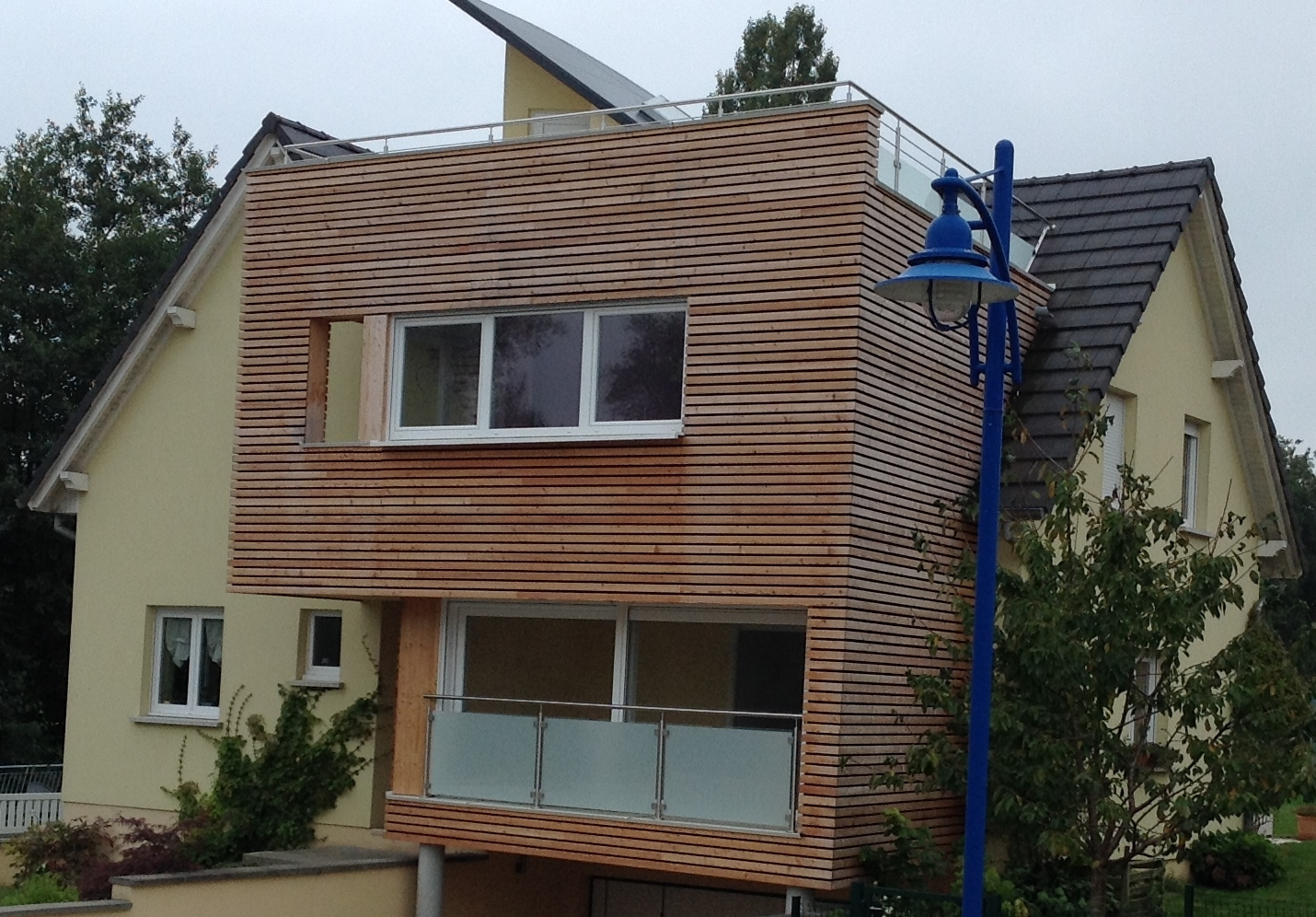 Grande extension sur piloti ABT Construction Bois # Extension En Bois Sur Pilotis