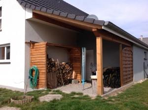 Construction appenti en bois. Construction Alsace, haut rhin (68)