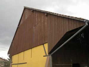 Rénovation d'une charpente d'une ferme en Alsace (68)