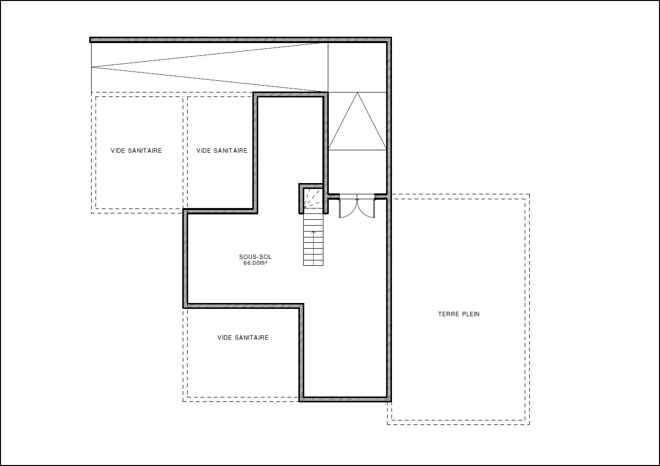 Maison ossature bois type 20 abt construction bois - Sous sol surface habitable ...