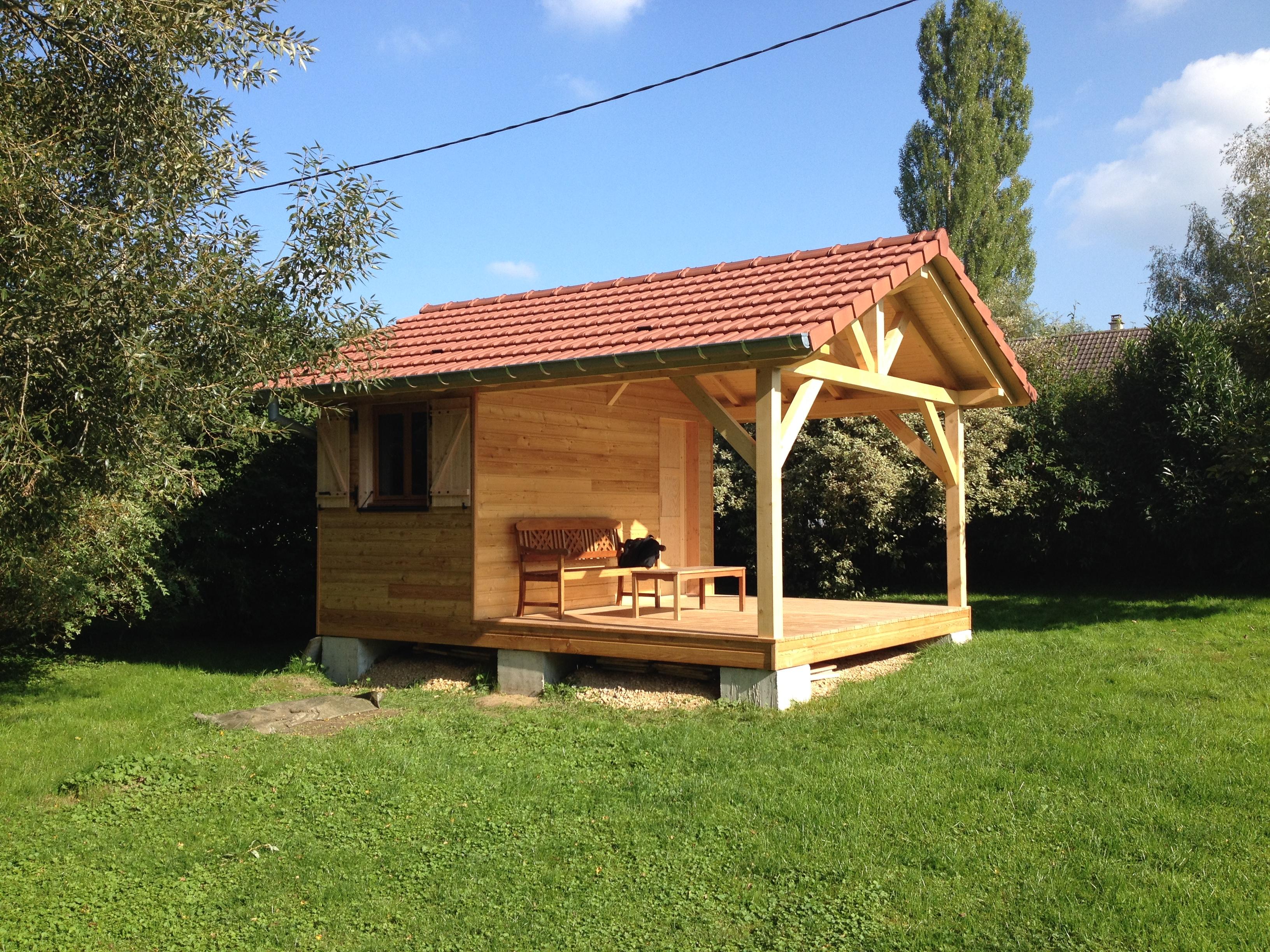 chalet de jardin en bois abt construction bois of petit