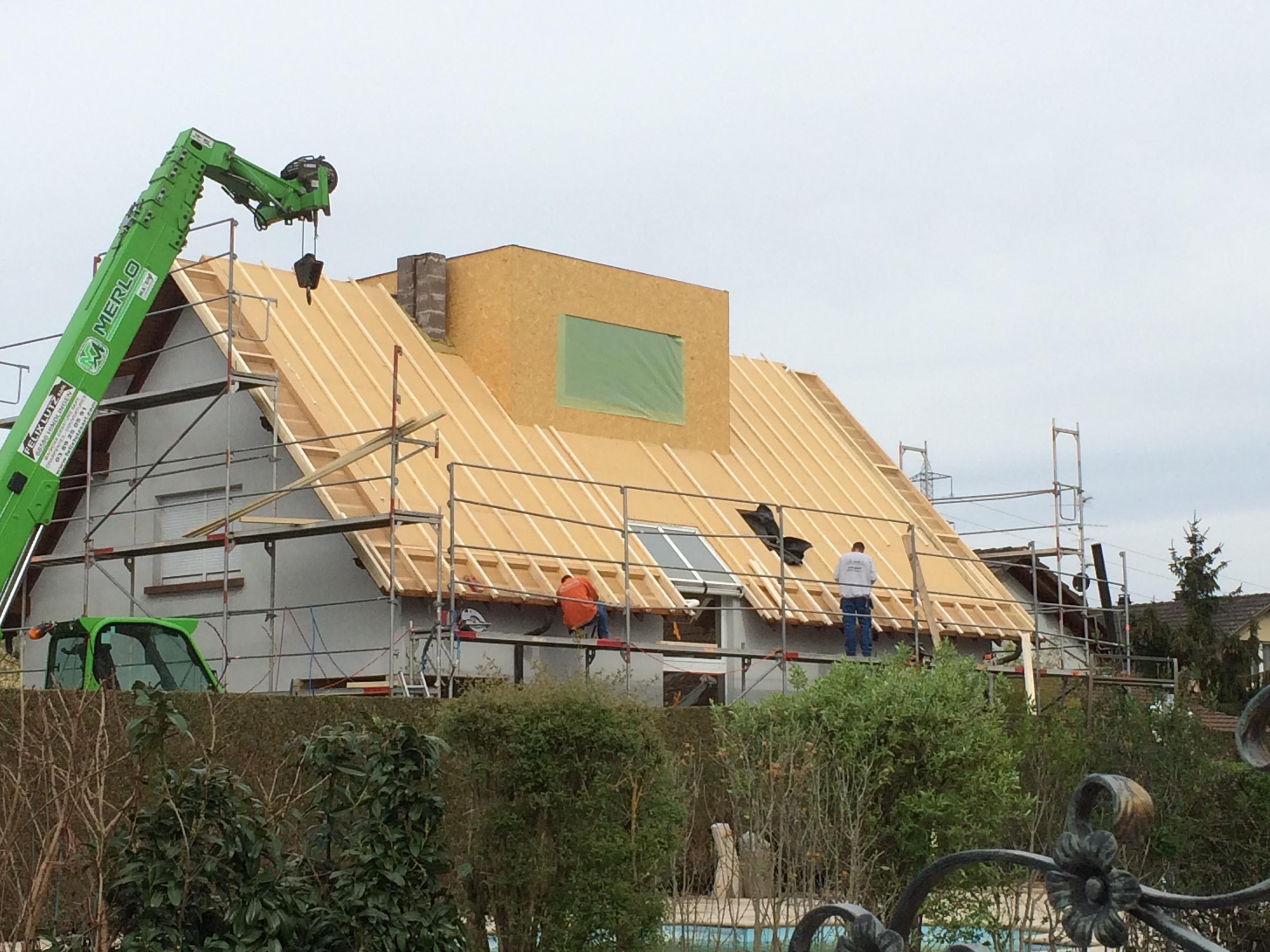 Super Extension maison bois, terrasse en ossature bois- ABT IX43