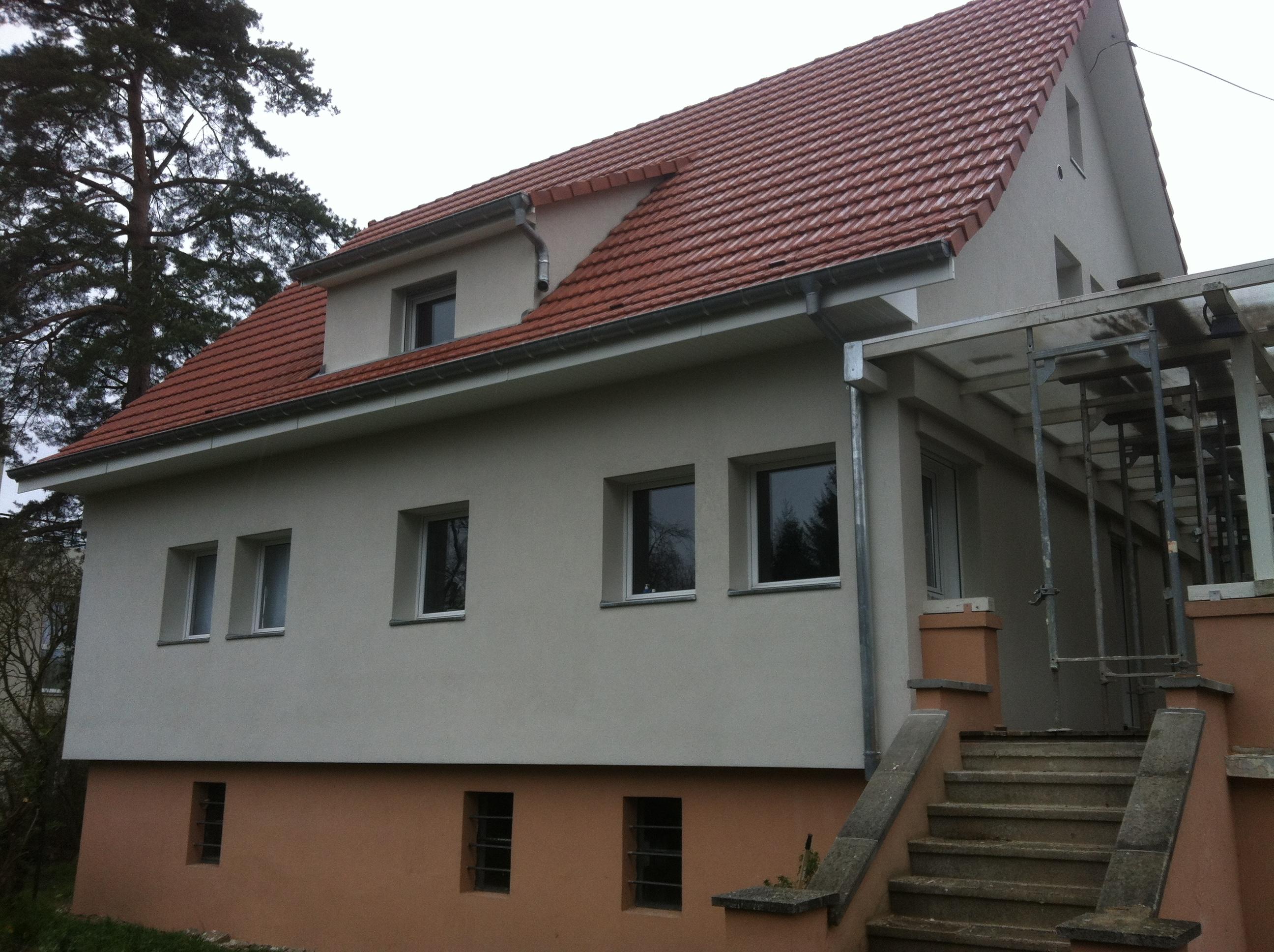 R novation et isolation d 39 une toiture et de murs abt bois - Les differentes etapes de construction d une maison ...