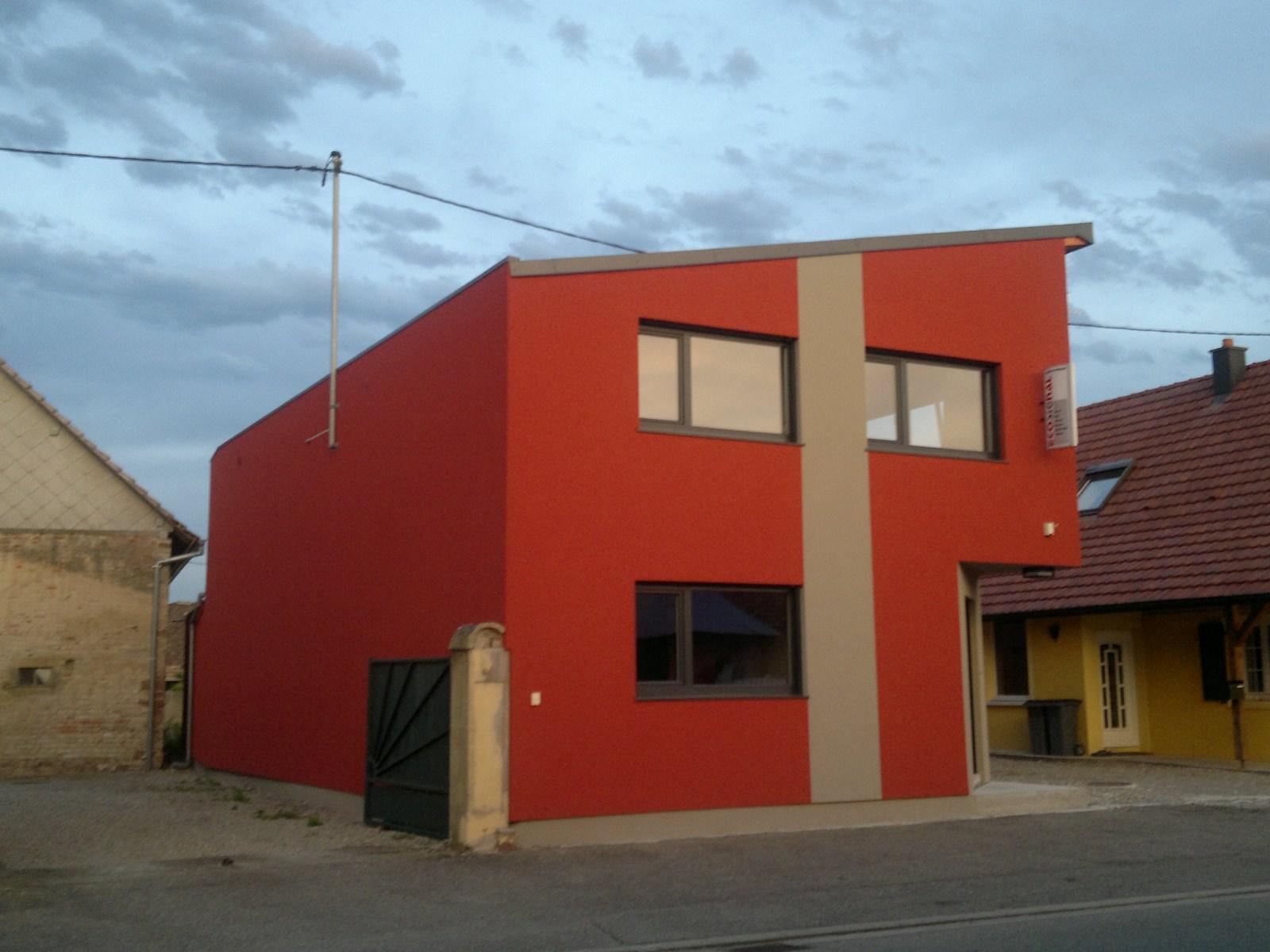 maison ossature bois monopente 4 abt construction bois. Black Bedroom Furniture Sets. Home Design Ideas