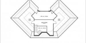 Plan étage du modèle type 11