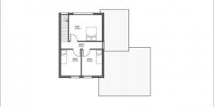 Plan étage du modèle type 12