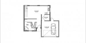 Plan rdc du modèle type 12