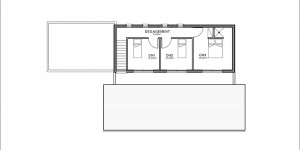 Plan étage du modèle type 14
