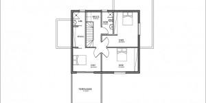 Plan étage du modèle type 15