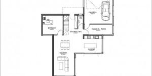 Plan rdc du modèle type 15