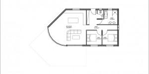 Plan rdc modèle type 18