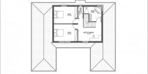 Plan étage du modèle type 2