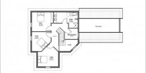 Plan etage du modèle type 5