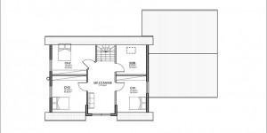 Plan étage du modèle type 6