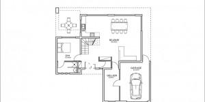 Plan rdc du modèle type 8-1
