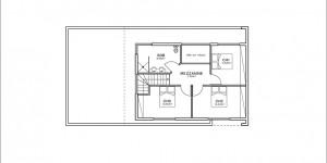 Plan étage du modèle type 9