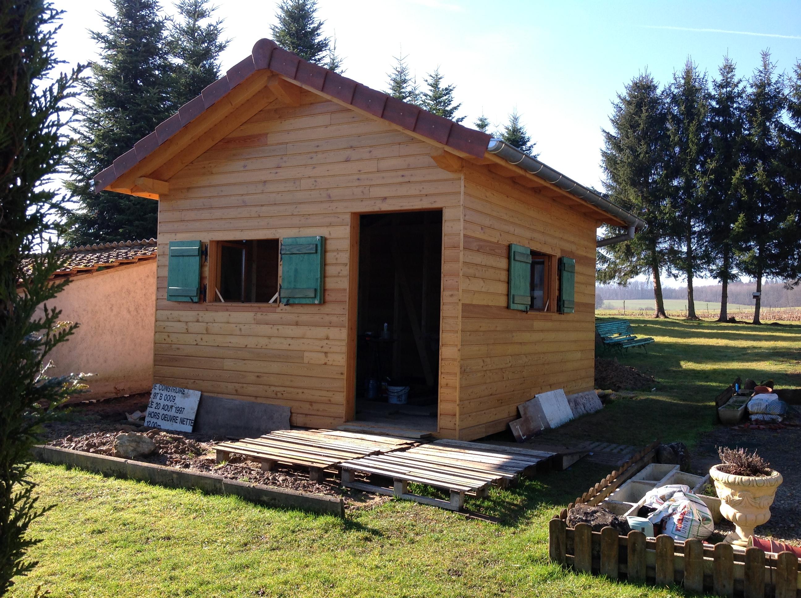 abri de jardin en bois abt construction bois. Black Bedroom Furniture Sets. Home Design Ideas