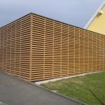 Bardage en bois dans le haut rhin en Alsace