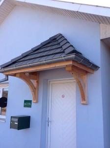 Réalisation d'une marquise en bois