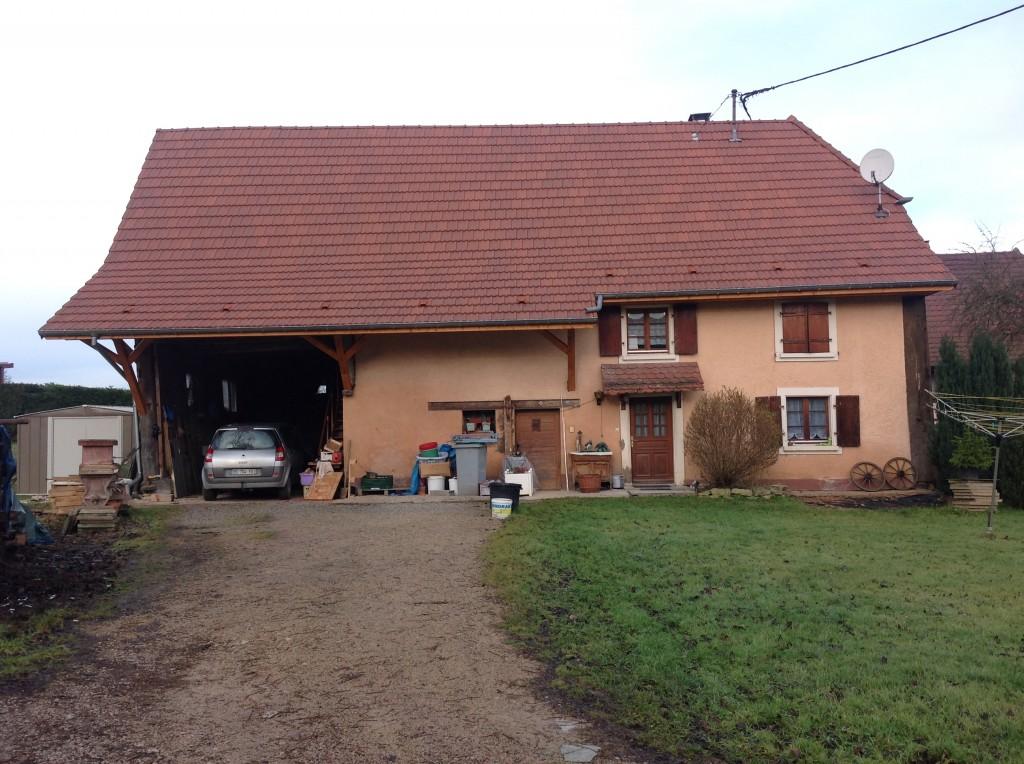 Après rénovation d'une ancienne charpente en Alsace (68)