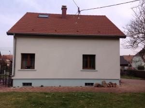 Fin de rénovation d'une toiture