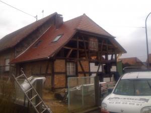 Après rénovation de toiture en Alsace (68)