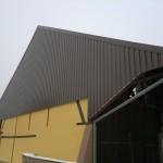 Rénovation terminée d'une charpente d'une ferme en Alsace (68)