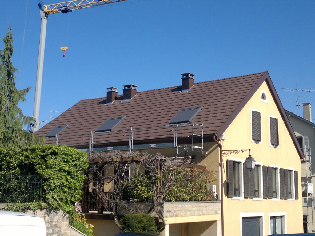 Après la rénovation de charpente en Alsace 68