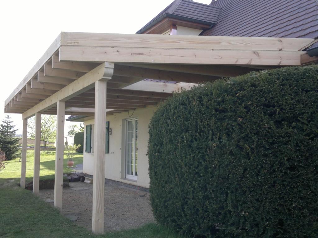 Construction de terrasse en bois
