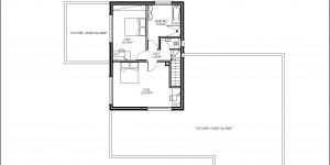 Plan de l'étage du modèle type 20