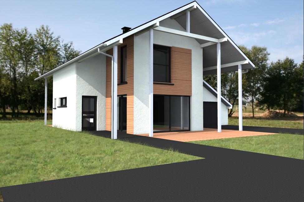 maison ossature bois type 22 abt construction bois