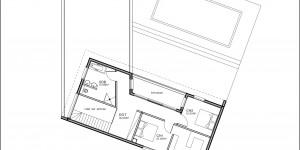 Plan de l'étage du modèle type 25