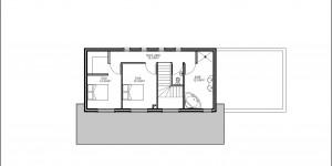 Plan de l'étage du modèle type 26