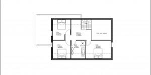 Plan de l'étage du modèle type 27