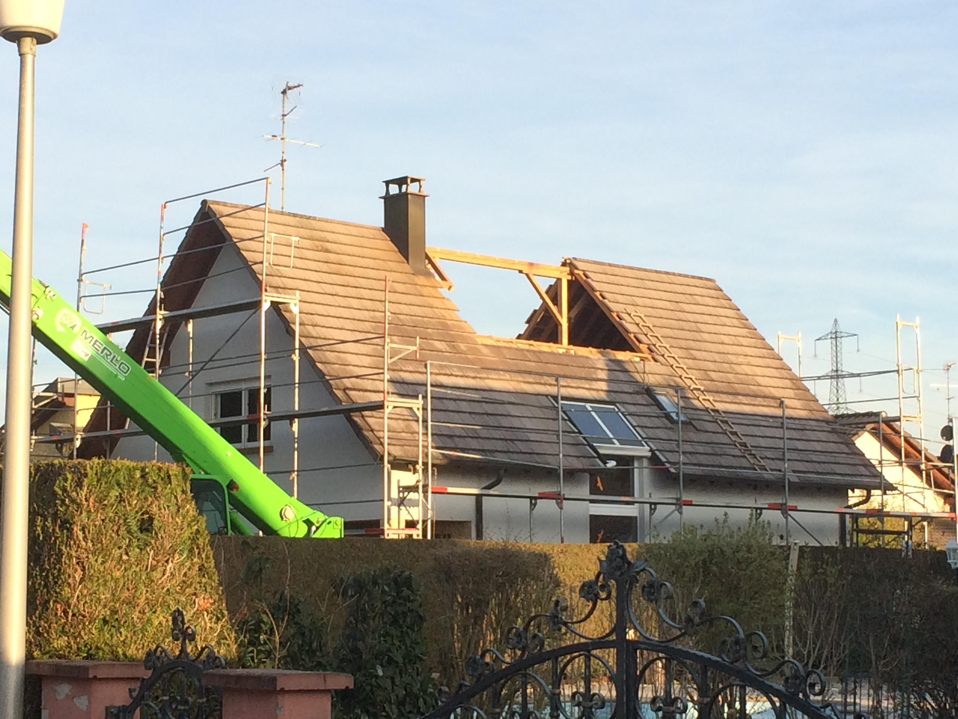 Extension maison bois terrasse en ossature bois abt - Plan d agrandissement de maison ...