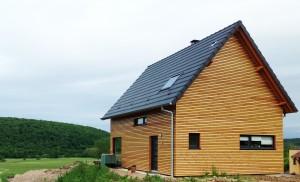bardage épicéa maison ossature bois