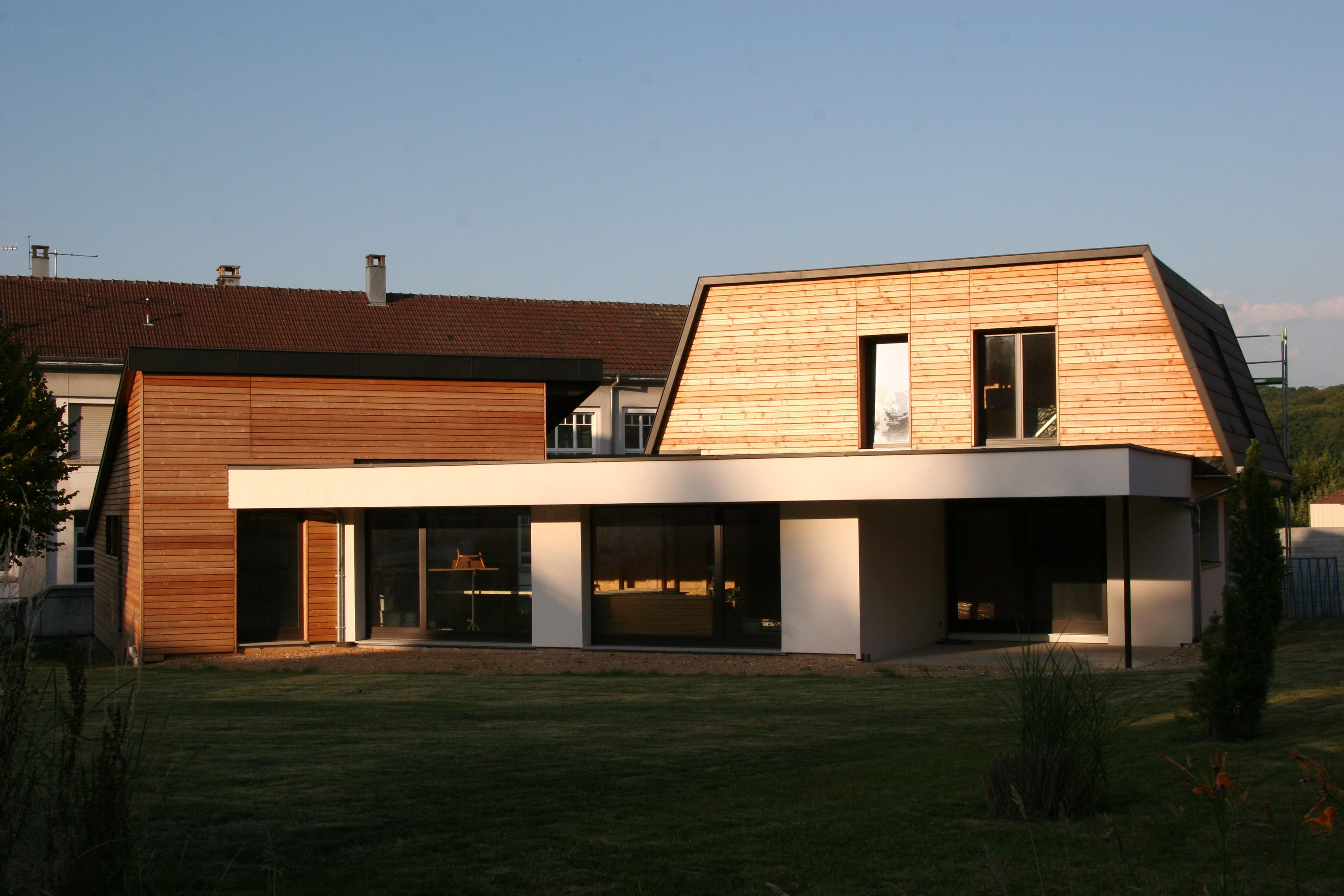 maison en ossature bois en autoconstruction abt bois. Black Bedroom Furniture Sets. Home Design Ideas