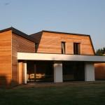 Projet d'une maison à ossature bois par ABT Construction Bois en Alsace dans le haut rhin